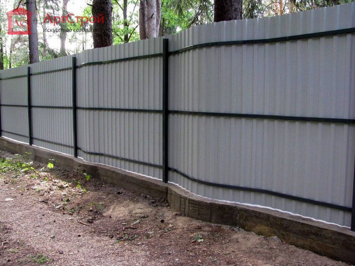 Профнастила ленточный фундамент цена Щелковский район