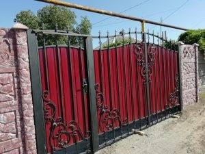 Кованные ворота 1