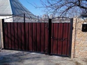 Кованные ворота 3