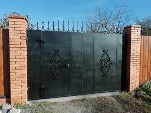 Кованные ворота 2